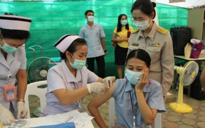 Phuket officials plan to vaccinate 100,000 people next month